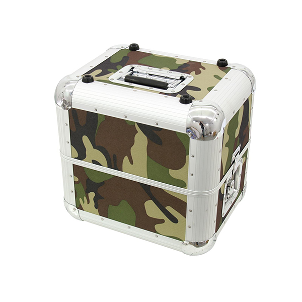 Record case ALU 50/50 for 80 LPs, camo – ROADINGER 3011002X Record case ALU 50/50 for 80 LPs, camo – ROADINGER 3011002X