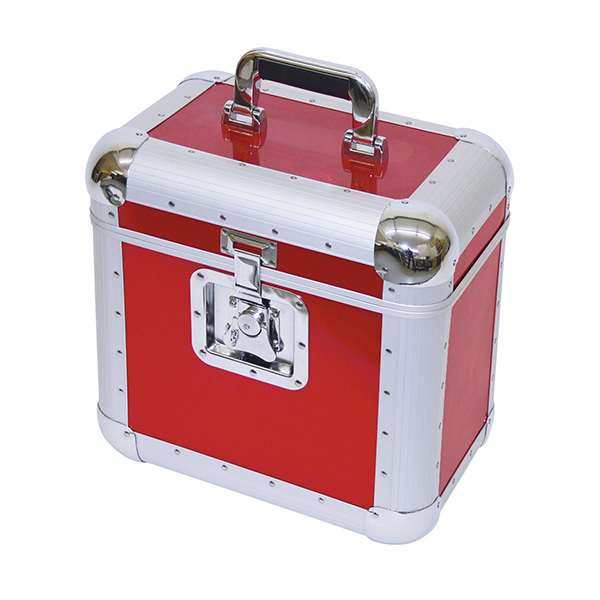 Record case ALU 75/25 for 100 LP'S, red – ROADINGER 30110040 Record case ALU 75/25 for 100 LP'S, red – ROADINGER 30110040