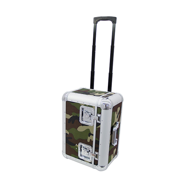 Record Case 70/25 for 100 LP'S camo TROLLEY – ROADINGER 30110066 Record Case 70/25 for 100 LP'S camo TROLLEY – ROADINGER 30110066