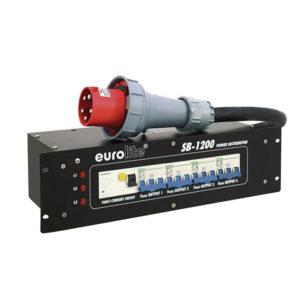 Power Distributor 63A SB-1200 – EUROLITE 30248380 Πίνακες-Διανομείς Ρεύματος Roadcases